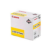Canon C-EXV21 (Yellow) Toner Cartridge (Yield 14,000 Pages)