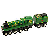 Bigjigs Rail BJT439 Heritage Collection Green Arrow