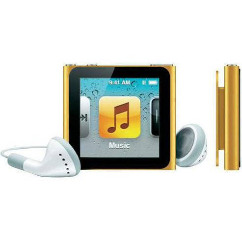 Apple MC691QG/A iPod Nano 8 GB 6th Gen - Orange