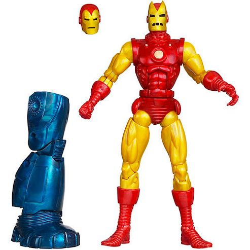 Marvel Legends Iron Man 3 15cm Figure - Classic Iron Man