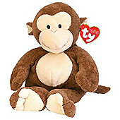 Ty Pluffie - Dangles Monkey Soft Toy