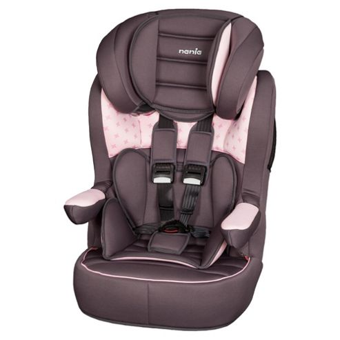 Nania Imax Car Seat, Group 1-2-3, Pink Star