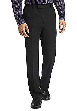 F&F Black Tailored Fit Trousers with Teflon® - Black