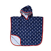 Mothercare Soft Poncho- Anchors