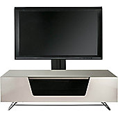 Alphason Chromium Ivory Cantilever TV Stand for up to 60 inch TVs