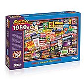 Gibsons Memories of the 1980s Sweets 1000-Piece Jigsaw Puzzle