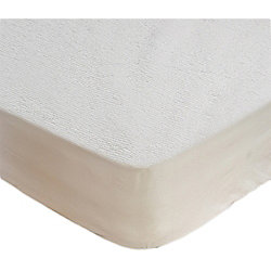 Small Single Water Resistant Terry Towel Mattress Protector