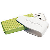 Verbatim Swivel USB Flash Drive 32GB - Green