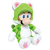 "Official Nintendo Super Mario Plush Series Stuffed Toy - 14"" Cat Luigi LARGE"
