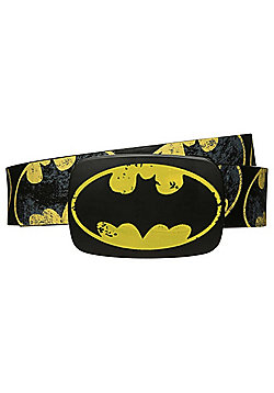 DC Comics Distressed Batman Belt - Black
