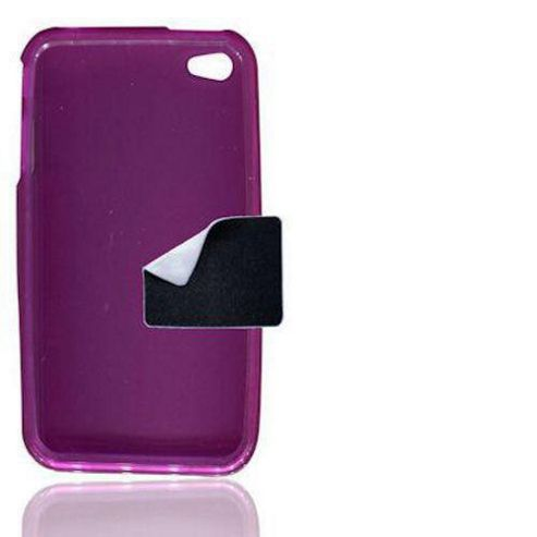 Apple iPhone 4, 4S S U-Bop gSHELL Tough All-Body Case, Smoke Purple