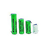 Rechargeable NiMh 2/3AA Tagged Cell Battery 650Mah