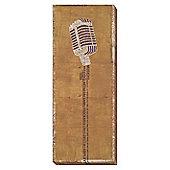 Big Band Canvas - Microphone