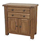 Furniture Link Danube Small Sideboard in Weathered Oak