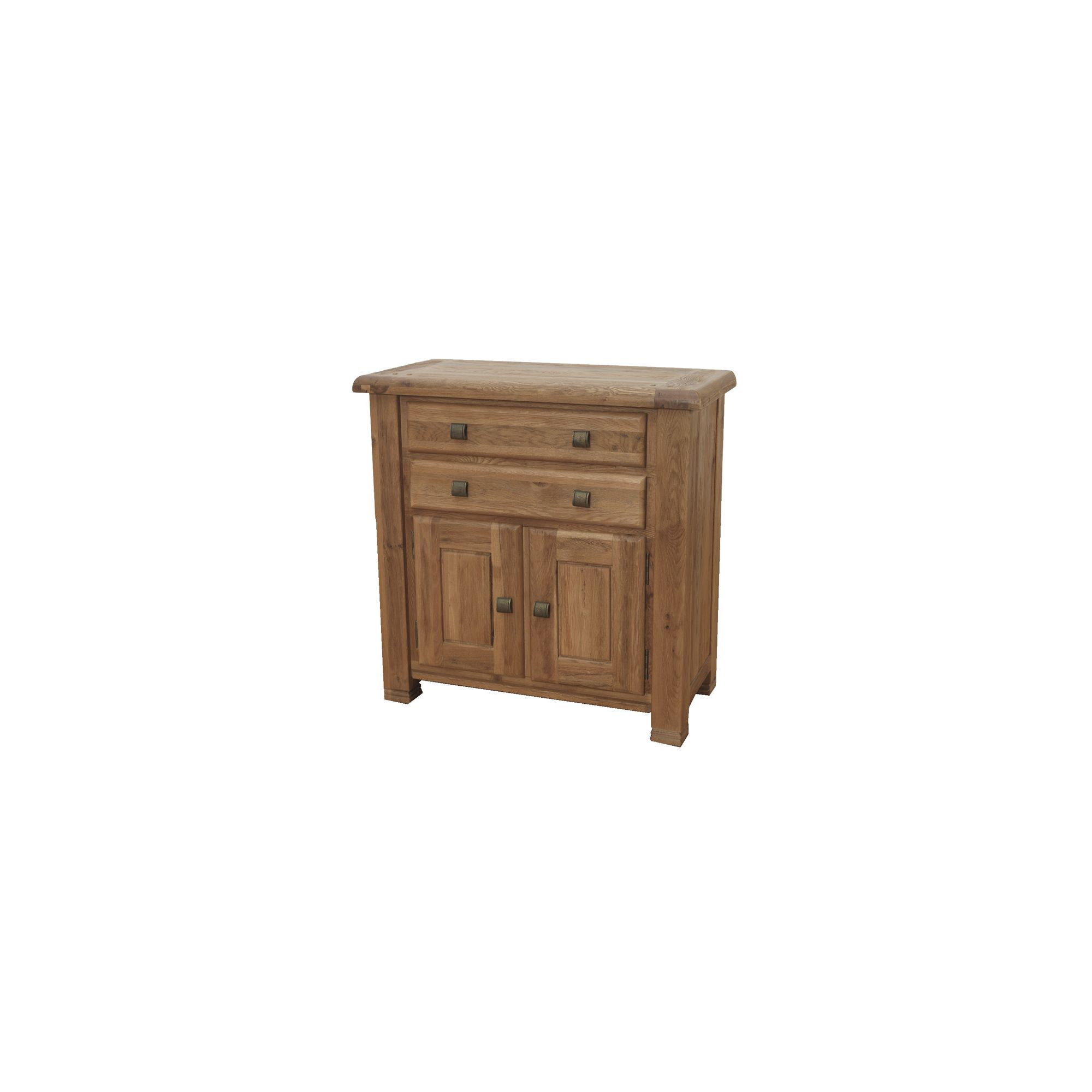 Furniture Link Danube Small Sideboard in Weathered Oak at Tesco Direct