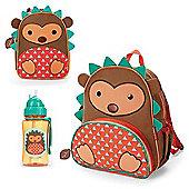 Skip Hop Zoo Backpack & Lunch Bag & Drinks Bottle - Hedgehog