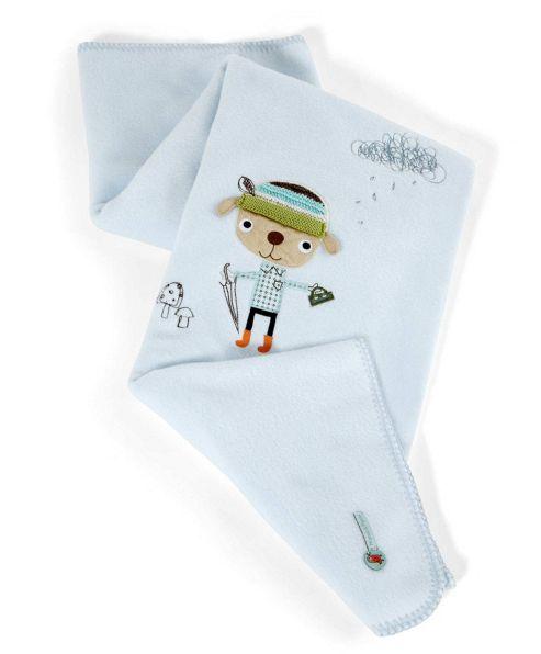 Mamas & Papas - Scrapbook Boy - Small Fleece Blanket
