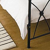 Belledorm Egyptian Cotton 200 Thread Count Platform Valance - King - Ivory - Ivory