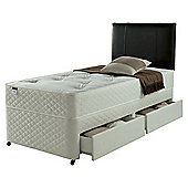 Silentnight Taplow Divan Bed, Miracoil Comfort Tufted Ortho