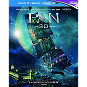 Pan 3D Blu-ray