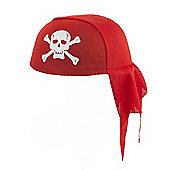 Fancy Dress Pirate's Bandana - Red