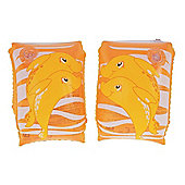 "Dolphin Arm Bands - Orange 9""x 6"""