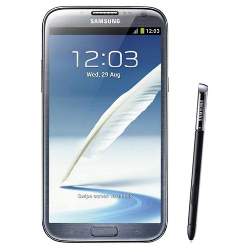 SIM Free Unlocked Samsung Galaxy Note II Grey