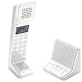 Swissvoice L7 Cordless Retro Designer Telephone with Stand Alone Intercom & TAM Base - White