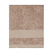 Linea Softer Feel Egyptian Cotton Face Cloth Mocha