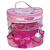 Little Pals Cupcake and Cookie Baking Set - Pink Age 3+