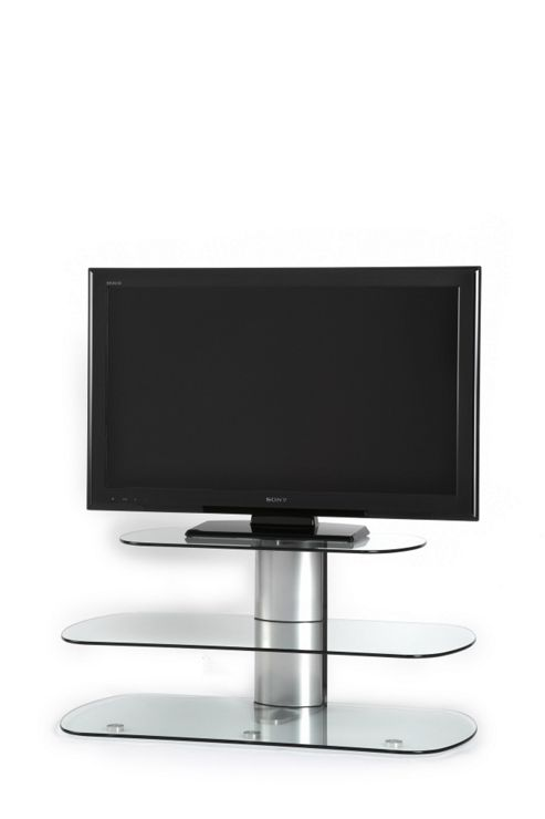 Off The Wall Skyline TV Stand - Silver