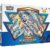 Pokemon Blastoise EX Red & Blue Collection Box