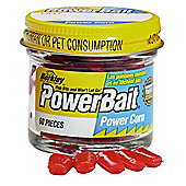 Berkley Powerbait Micro Corn - Red Strawberry twin pack (50)