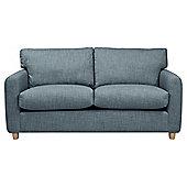 Boston Medium 3 Seater Felt Effect Sofa, Mineral
