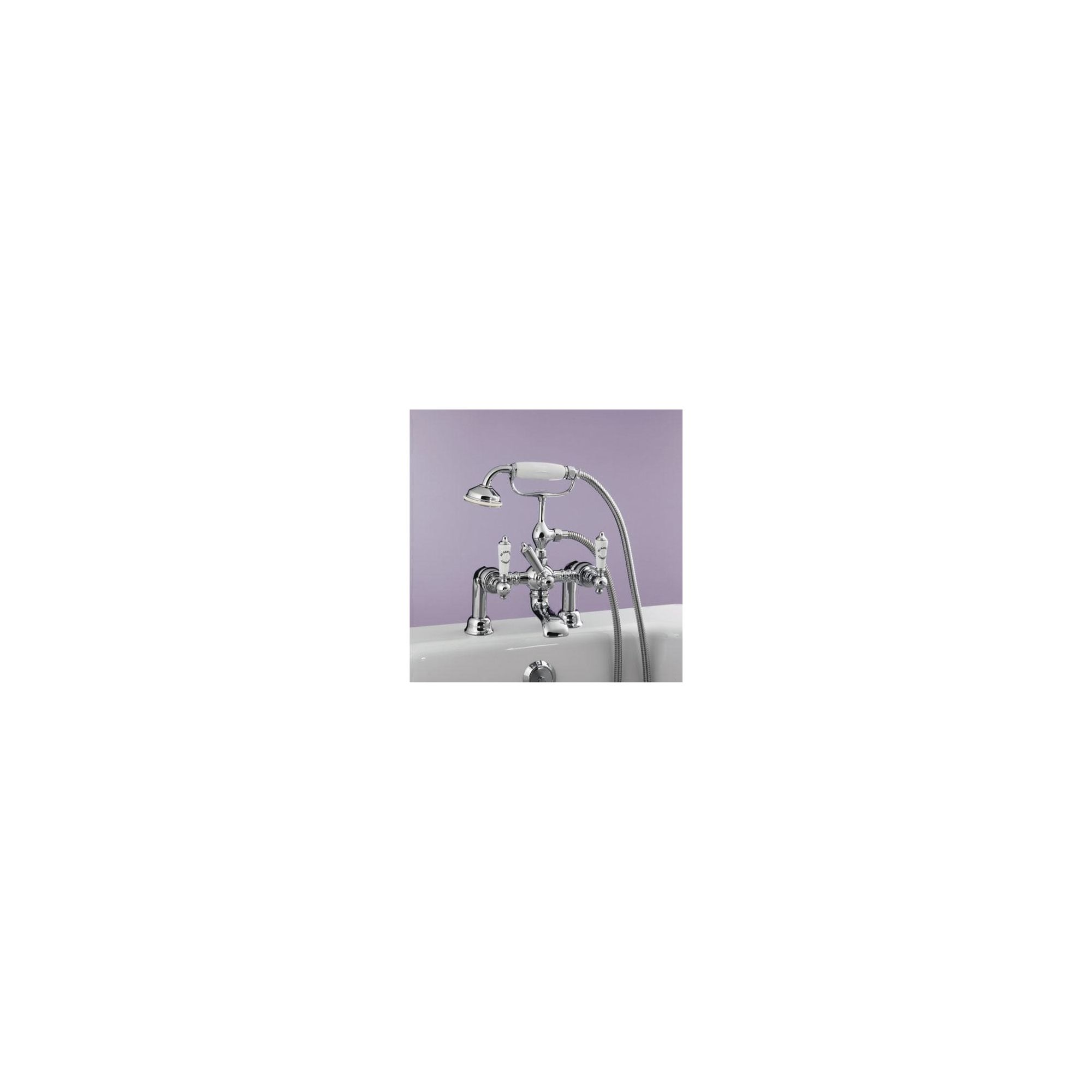 BC Sanitan Berkeley Bath/Shower Mixer Chrome at Tesco Direct