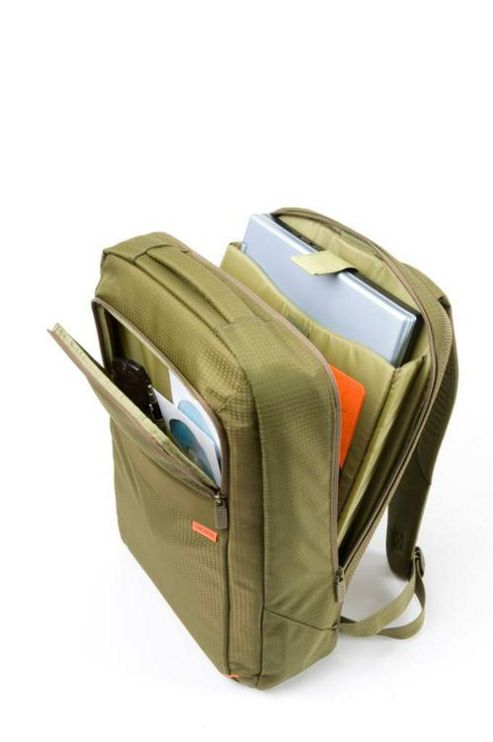 Dicota BacPac Casual Backpack (Green) for up to 15 inch/16.4 inch Notebooks