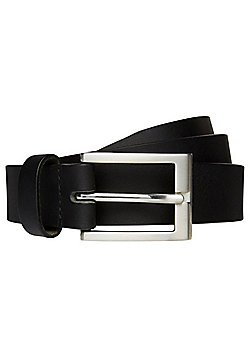 F&F Casual Leather Belt - Black