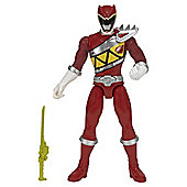 Power Rangers 25Cm Sound Fig Dino Charge Red