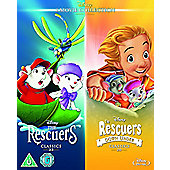 Rescuers & Rescuers Down Under Classics Blu-ray