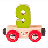 Bigjigs Rail BR139 Name Number 9 (Colours Vary)