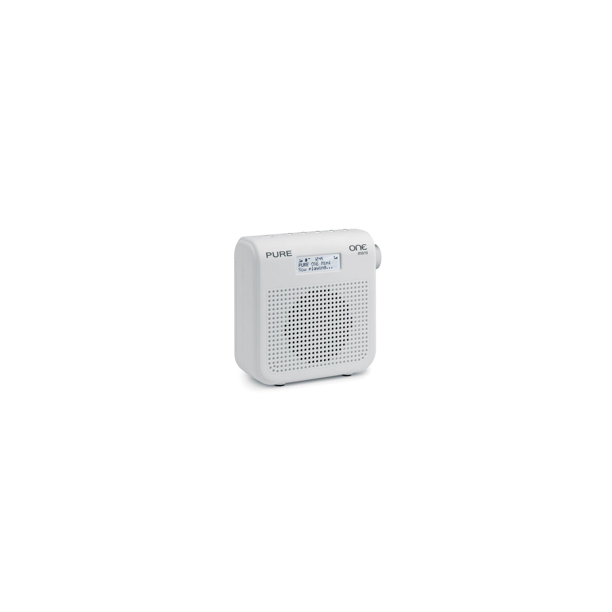 Pure Mini Series II DAB/FM Radio with 16 Presets - White