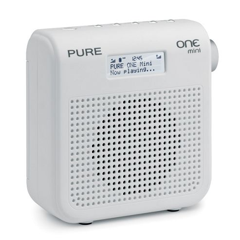Pure Mini Series II DAB/FM Radio with 16 Presets - White