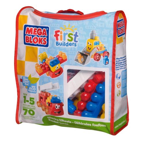 Mega Bloks First Builders Wacky Wheels