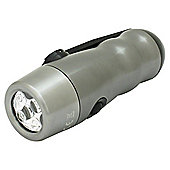 Rolson 5 LED Aluminium Dynamo Torch