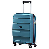 American Tourister Bon Air Hard Shell 4-Wheel Suitcase, Blue Small