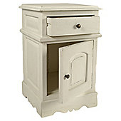 Papa Theo 1 Drawer Bedside Table