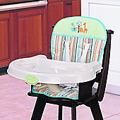 Summer Infant Comfi Highchair Insert - Safari Stripe