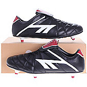 Hi-Tec League Pro SI Adult Football Boots Black/White/Red - 8