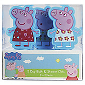 Peppa Pig 5 X 30Ml Bubble Bath Square