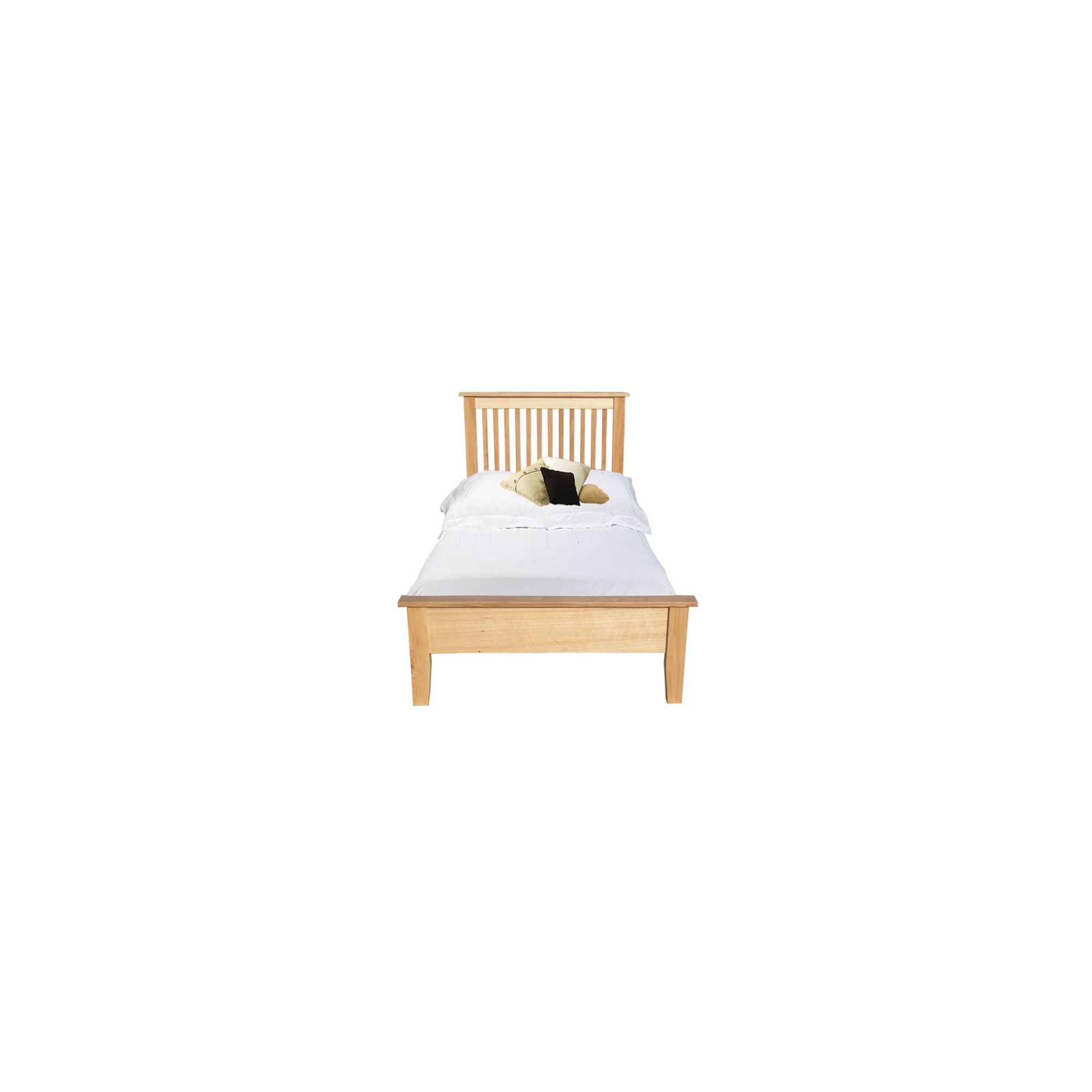 Home Zone Furniture Lincoln Bed Frame - Single at Tesco Direct